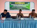 Kepala Dinas Pendidikan Sumenep, Bambang Irianto pada acara Silaturahmi Pengembangan Program Mutu Pendidikan serta Pembinaan Kepegawaian di Gedung Ki Hajar Dewantoro Sumenep