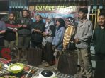 Acara Coffe Night Humas Polres Pulau Buru bersama insan pers