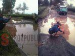 Rusak Parah, Jalan Malabar Bandung Dikeluhkan Masyarakat