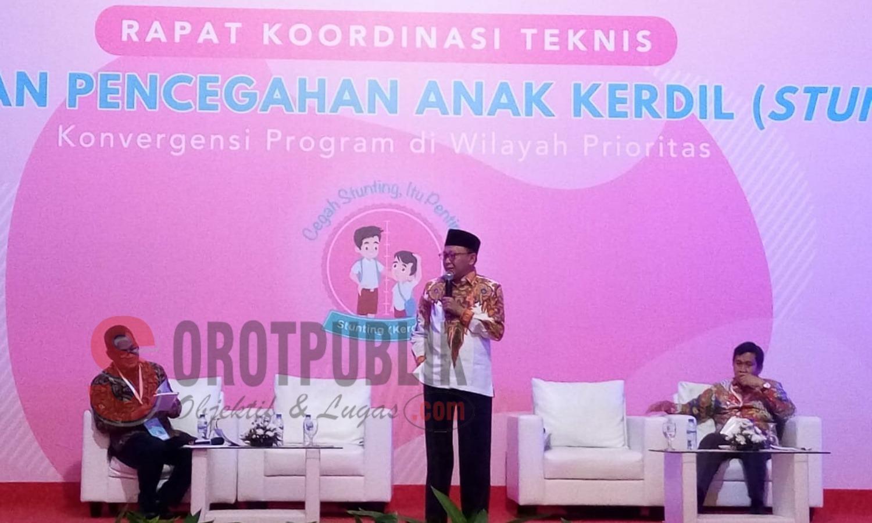 Sukses Turunkan Angka Stunting, Bupati Sumenep Didapuk Jadi Narasumber Rakor
