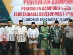 Kampung SDGs Binaan Baznas Diresmikan Bupati Jember
