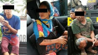 Tiga Orang Penambang Liar Gunung Botak Ditangkap Polisi