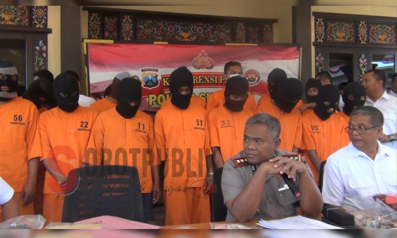 Selama Juni-Juli, Polres Sumenep Ungkap 8 Kasus Narkotika