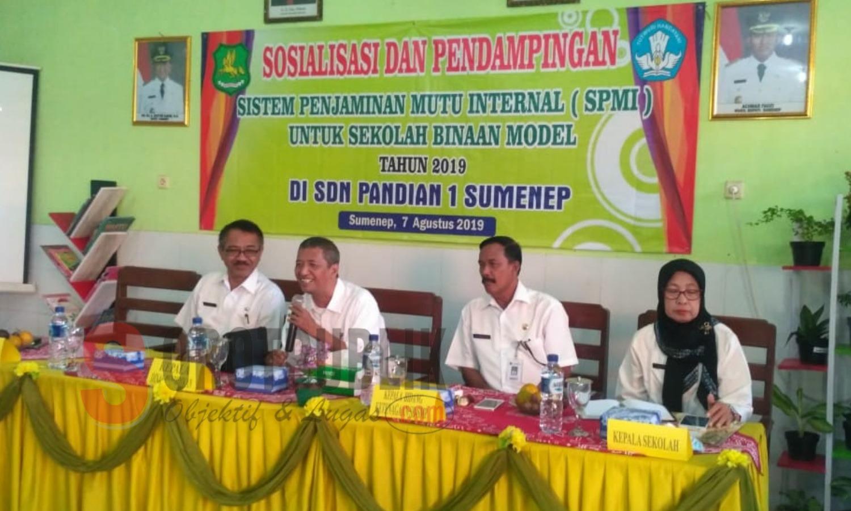 Sosialisasi dan Pendampingan Sistem Penjaminan Mutu Internal (SPMI)