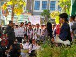 Aksi mahasiswa Fakultas Tarbiyah dan Ilmu Keguruan IAIN Jember