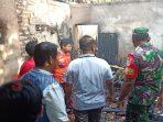 Kondisi Gudang yang dilalap sijago merah di Desa Beraji, Gapura, Sumenep