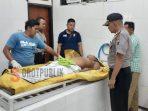 Korban saat divisum diruang jenazah RSUD dr. H. Moh. Anwar Sumenep