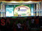 Rahman, Kepala SDN Beringin 1 Kecamatan Dasuk, Sumenep saat sambutan pada acara Pelepasan dan Perpisahan Siswa Kelas Akhir Tahun Pelajaran 2018-2019