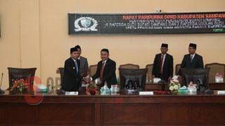 Sidang Paripurna DPRD Sampang Bahas 6 Raperda dan 2 Raperda Usulan