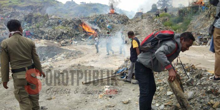 Datangi Tambang Emas Gunung Botak, Ini yang Dilakukan Gabungan TNI, Polri, Satpol PP dan Masyarakat Adat Buru