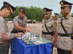 Kapolres Pulau Buru Pimpin Serah terima Jabatan Kabag Ops dan Sejumlah Kapolsek