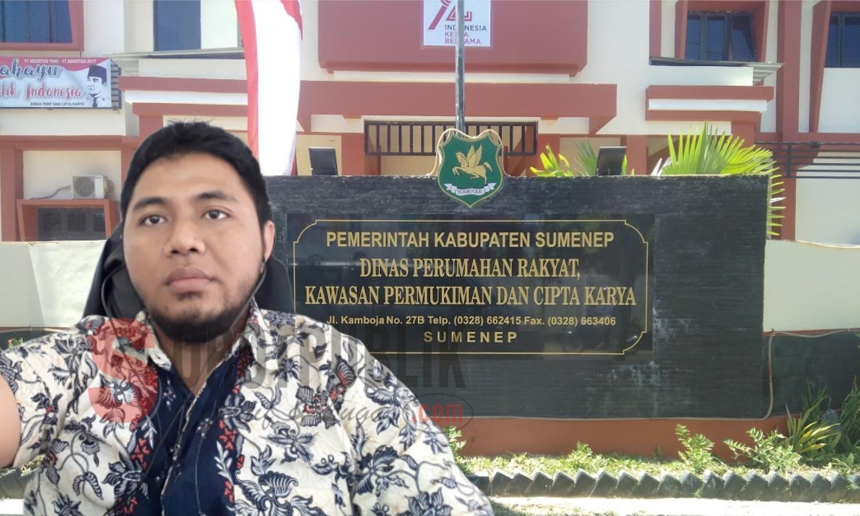 Kepala Dinas PRKP dan Cipta Karya Sumenep Diduga Alergi Wartawan