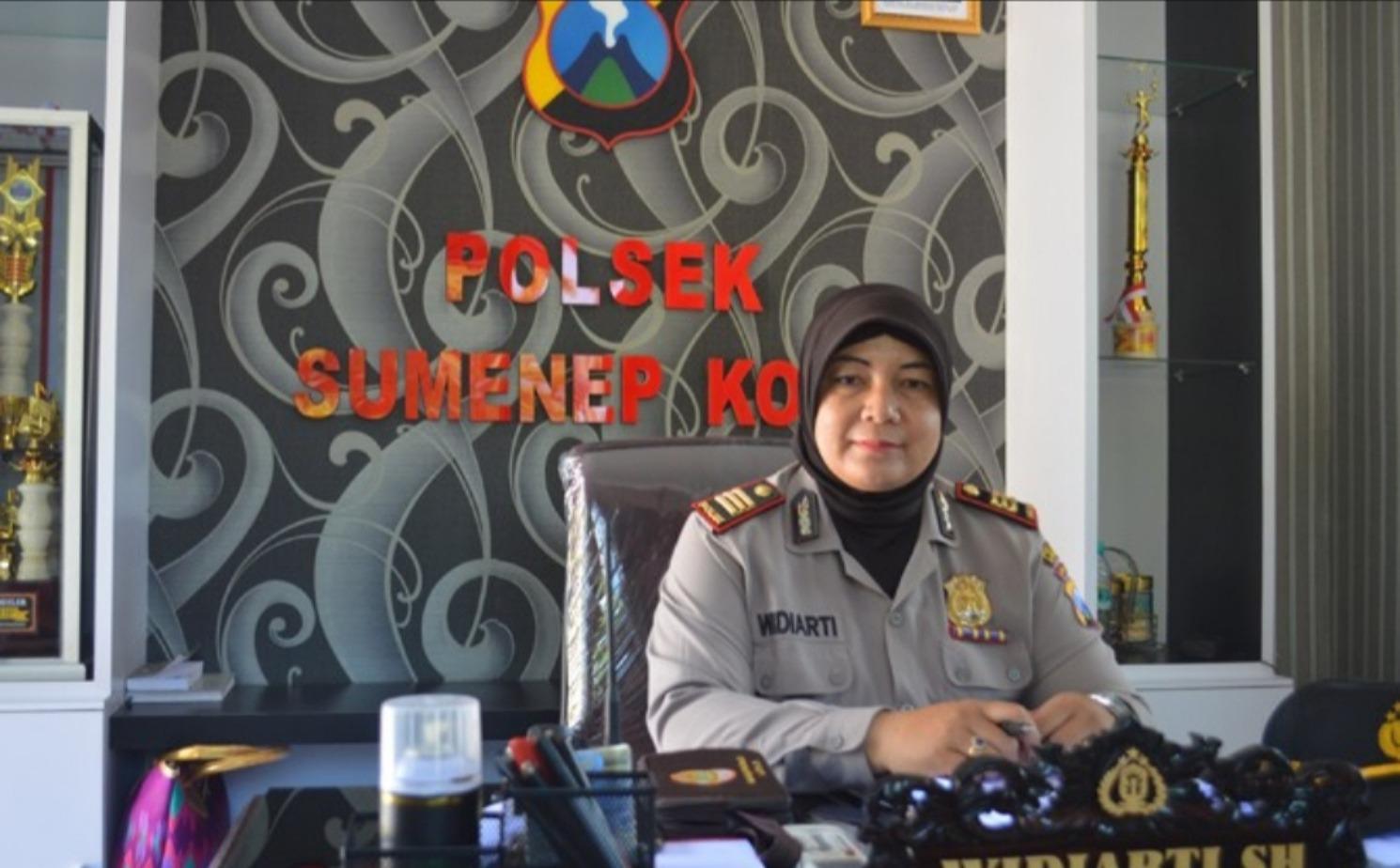Kabag Humas Polres Kabupaten Sumenep AKP Widiarti.