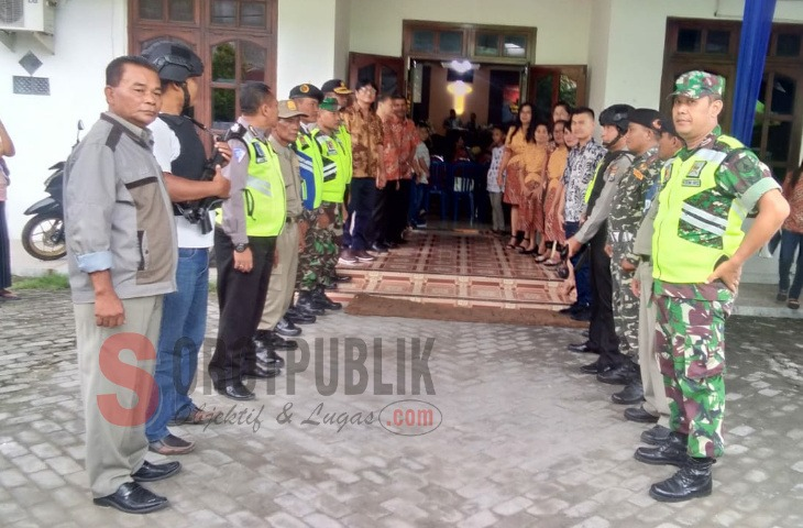 Sinergitas TNI-Polri Lamongan Jelang Nataru