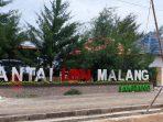 Tanpak depan Pantai Lon Malang Kabupaten Sampang, Madura, Jawa Timur